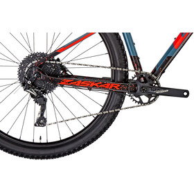 GT Bicycles Zaskar Carbon Comp Herren satin slate blue/black/red